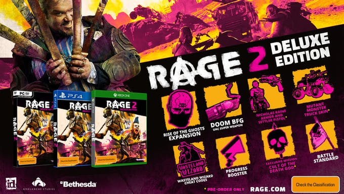 Exclusive in-game content for RAGE 2