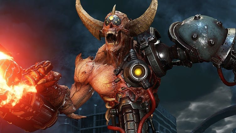 DOOM Eternal's monsters and weapons are a blast
