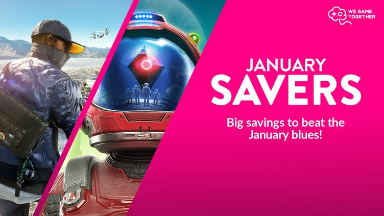 Beat the January blues with thousands of AAA and Indie games on sale for less