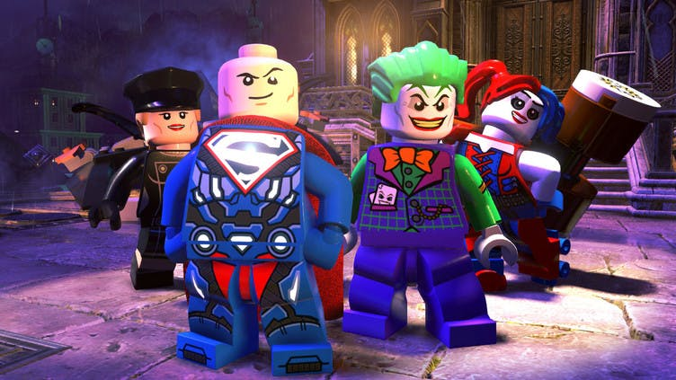 Play as the bad guys in LEGODC Super-Villains