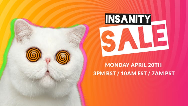 Insanity Sale 2020 is coming - Get ready for crazy deals on games