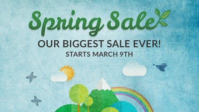 Get ready for Spring Sale 2020 - Our biggest sale ever