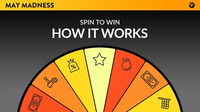 May Madness Spin to Win - How it works and what you could win