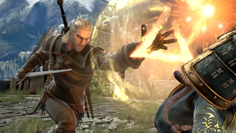 Witcher Geralt of Rivia to join SoulCalibur VI