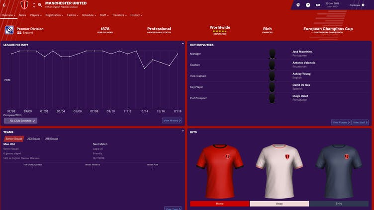 Manchester United sues Football Manager over 'trademark infringement'