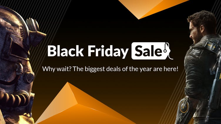 Black Friday Sale now live - Big savings on top Steam PC games