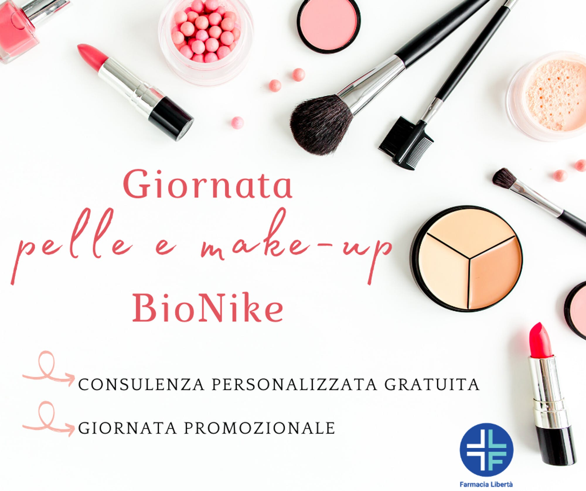 Giornata pelle e make-up Bionike Farmacia Libertà