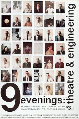9 Evenings, October 13-23, 1966