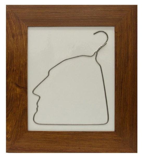Ai Weiwei, Hanging Man (Silver), 2009