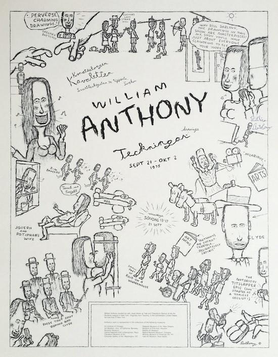 William Anthony, William Anthony, Teckningan (Drawings),