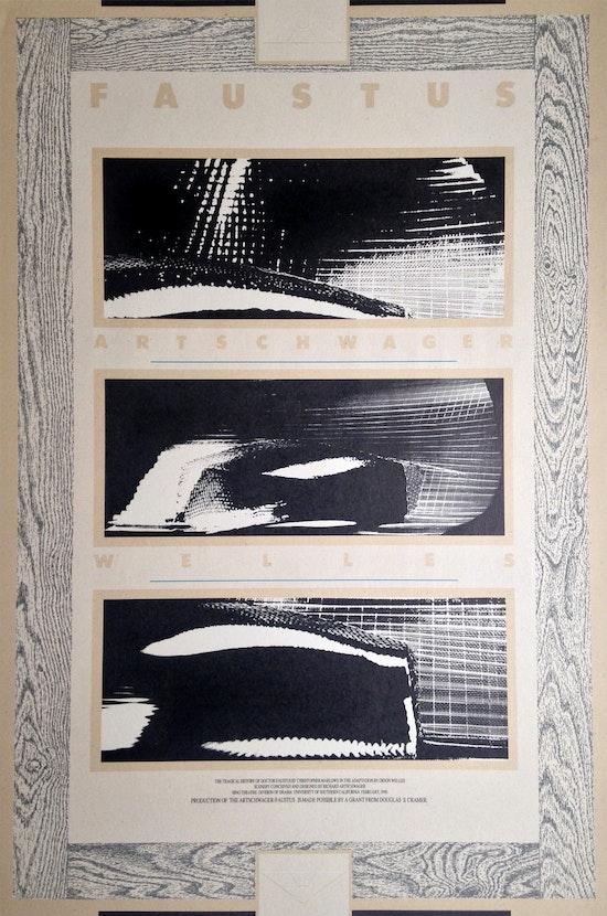 Richard Artschwager, Faustus, Artschwager, Welles, 1990