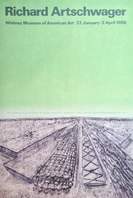 Richard Artschwager, Richard Artschwager, 1988
