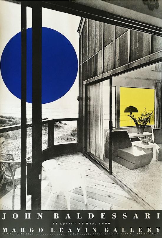John Baldessari, John Baldessari (Beachhouse), 1990