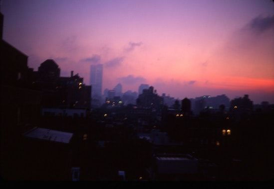 Nan Goldin, Apocalyptic Sky over Manhattan, NYC, 2001