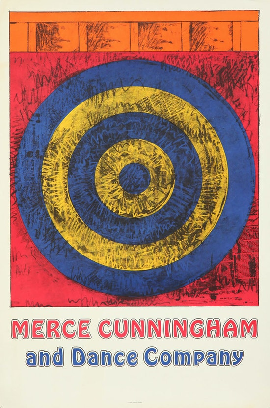 Jasper Johns, Merce Cunningham and Dance Company (Target with Four Faces), 1968