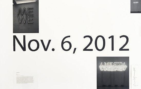 Glenn Ligon, Study After One Black Day, 2018