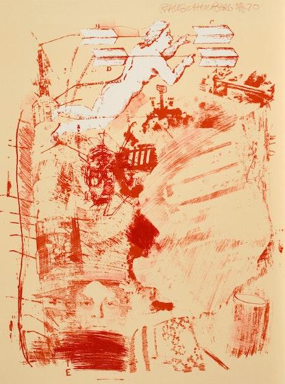 Score, Robert Rauschenberg, 1970