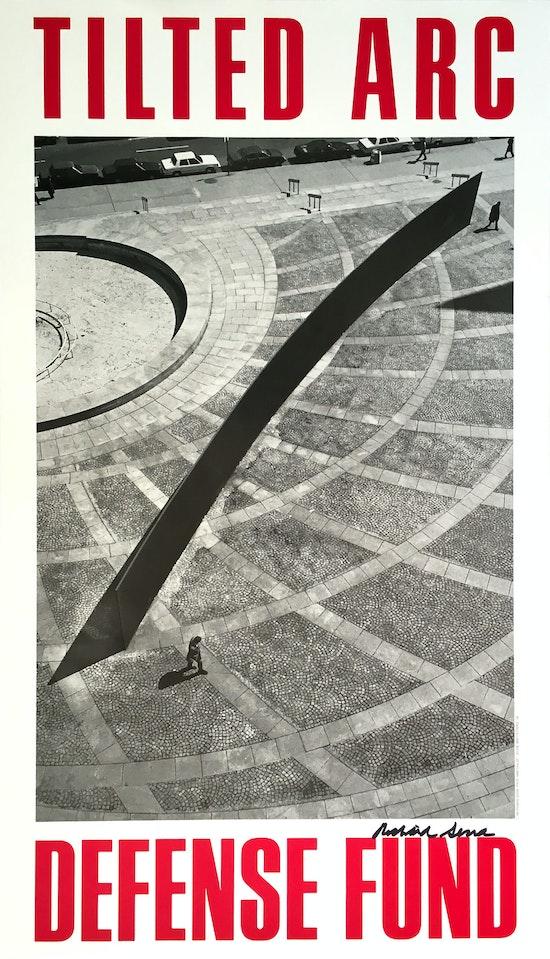 Richard Serra, Tilted Arc Defense Fund, 1985