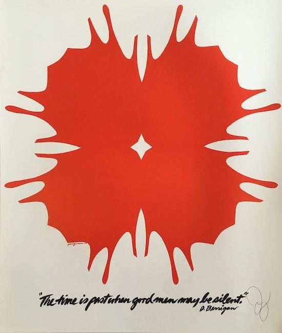 Jack Youngerman, D. Berrigan, 1971