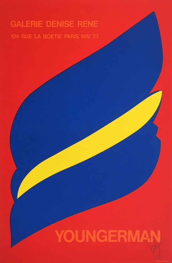 Jack Youngerman, Youngerman, 1973