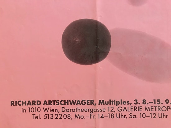 Richard Artschwager, Richard Artschwager, Multiples, 1990