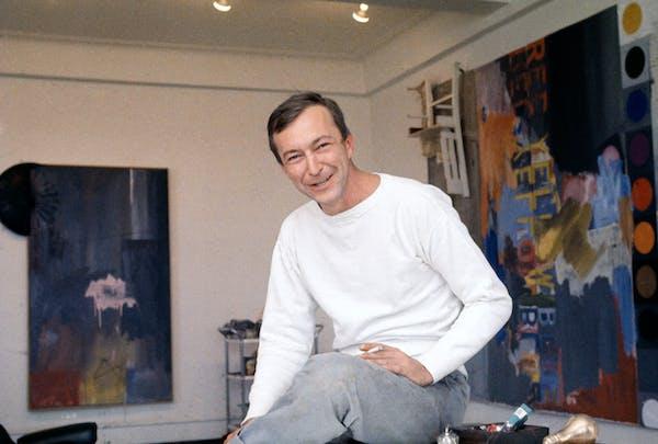 Jasper Johns, Co-Founder