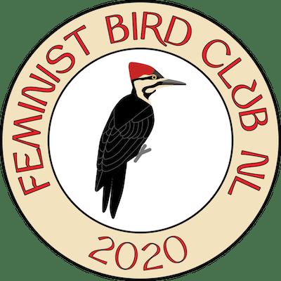 Logo van Feminist Bird Club NL
