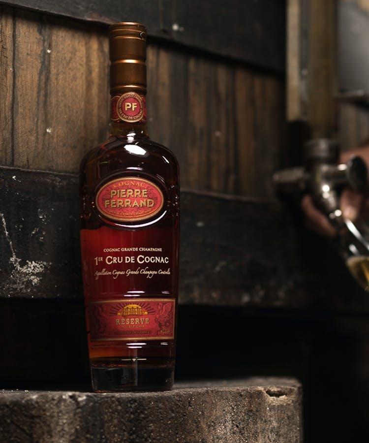 double cask reserve bottle