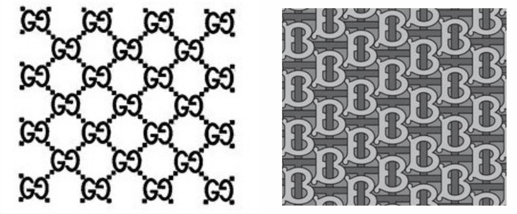 Nákresy dvou vzorů