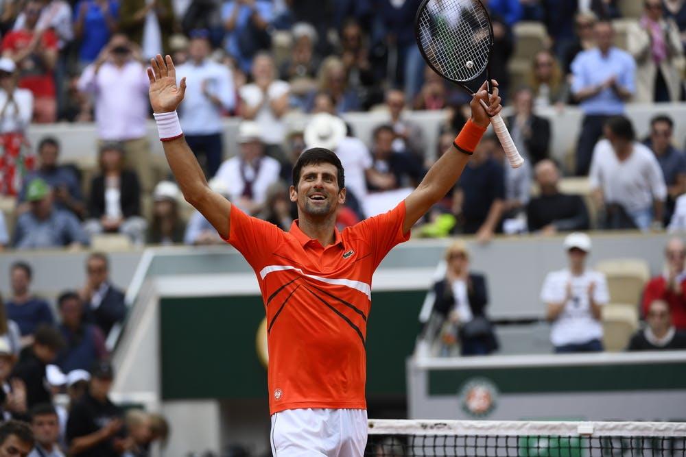 Novak Djokovic - Roland-Garros 2019 - 2e tour