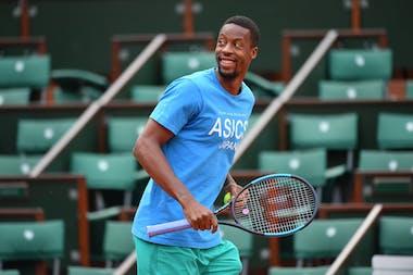 Roland-Garros 2018,  Gael Monfils, entraînement, practice