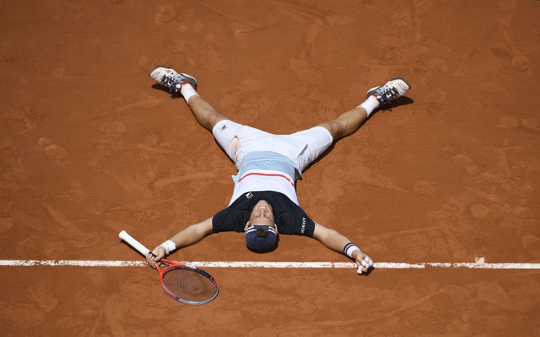 Diego Schwarzman, Roland-Garros, 8è de finale