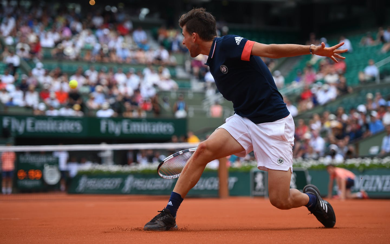 Dominic Thiem, Roland-Garros 2018.