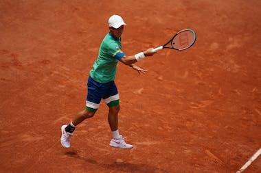Kei Nishikori, Roland-Garros 2021, 2nd round