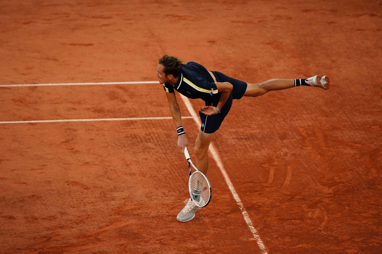 Daniil Medvedev Roland-Garros 2021