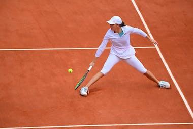Iga Swiatek, Roland-Garros 2020, demi-finales