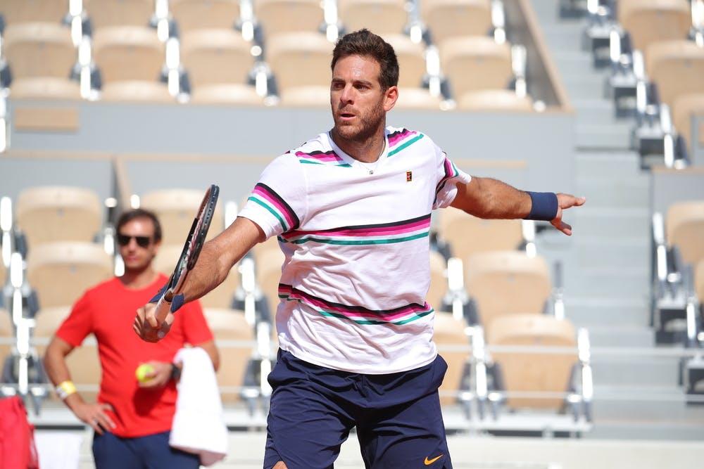 Juan Martin Del Potro Roland Garros 2019