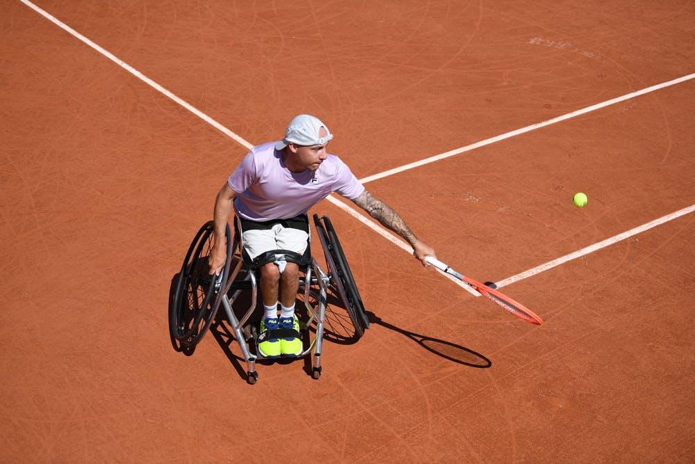 Andy Lapthorne, Roland-Garros 2021, quad, final