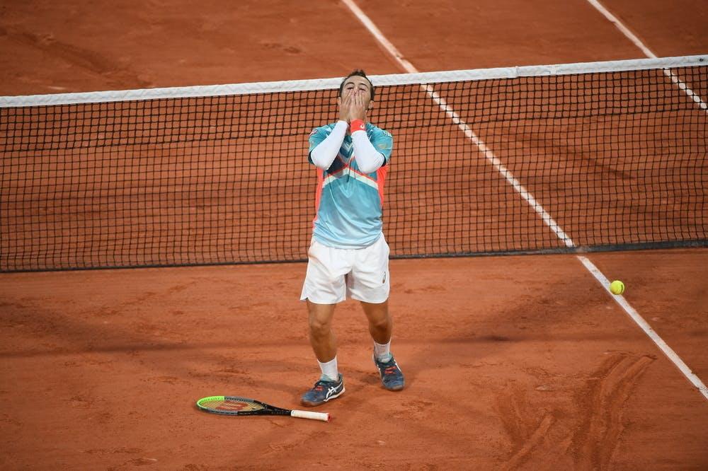 Hugo Gaston, Roland-Garros 2020, 3e tour