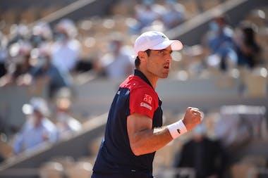 Pablo Andujar, Roland Garros 2021, first round