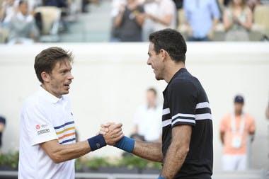 Roland-Garros 2018, Juan-Martin Del Potro, Nicolas Mahut