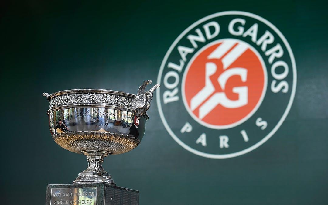La Coupe des Mousquetaires Roland-Garros 2018 trophée / Coupe des Mousquetaires trophy