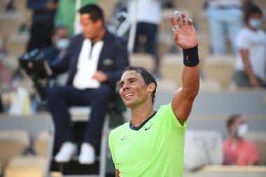 Rafael Nadal / Huitièmes de finale Roland-Garros 2021