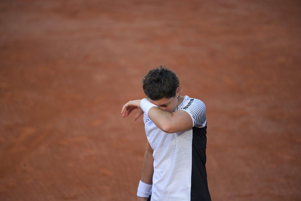 Carla Suarez Navarro, Roland Garros 2021, first round