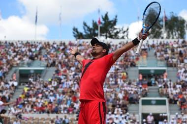 Fabio Fognini troisième tour Roland-Garros 2018