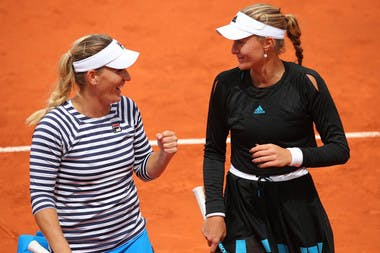 Kristina Mladenovic-Timea Babos - demi-finales - doubles dames - Roland-Garros 2019