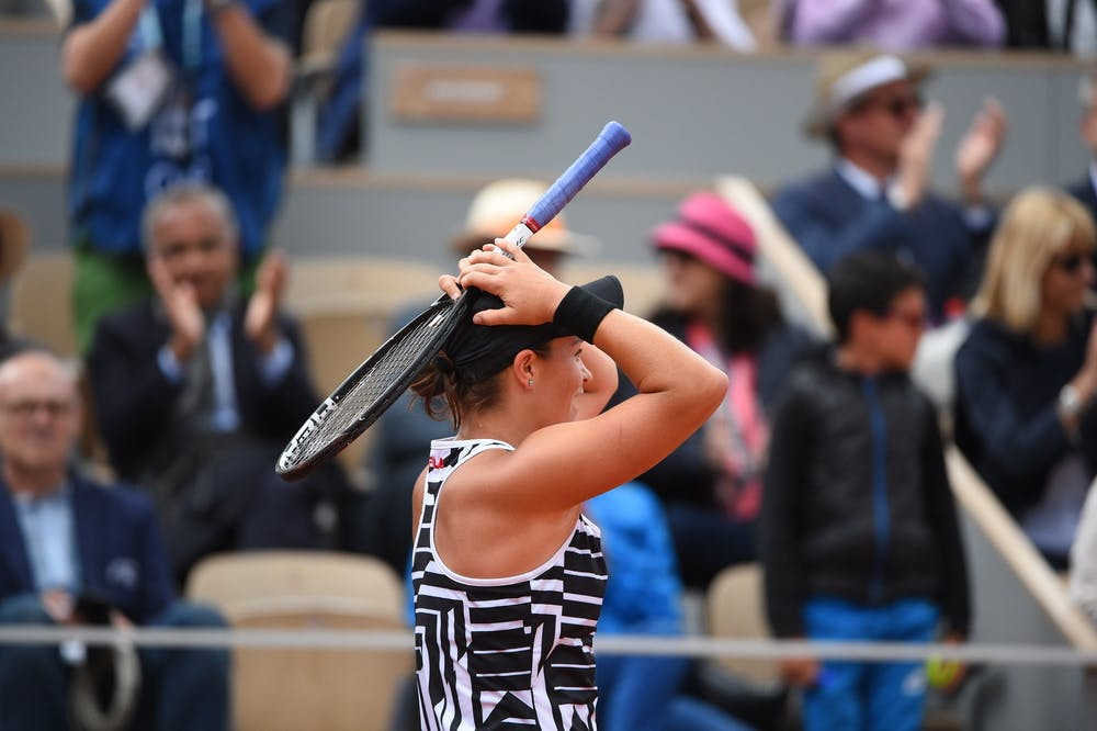 Ashleigh Barty hardly believing she just won Roland-Garros 2019