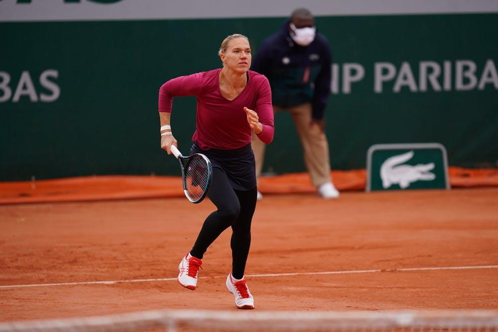Kaia Kanepi, Roland Garros 2020, first round
