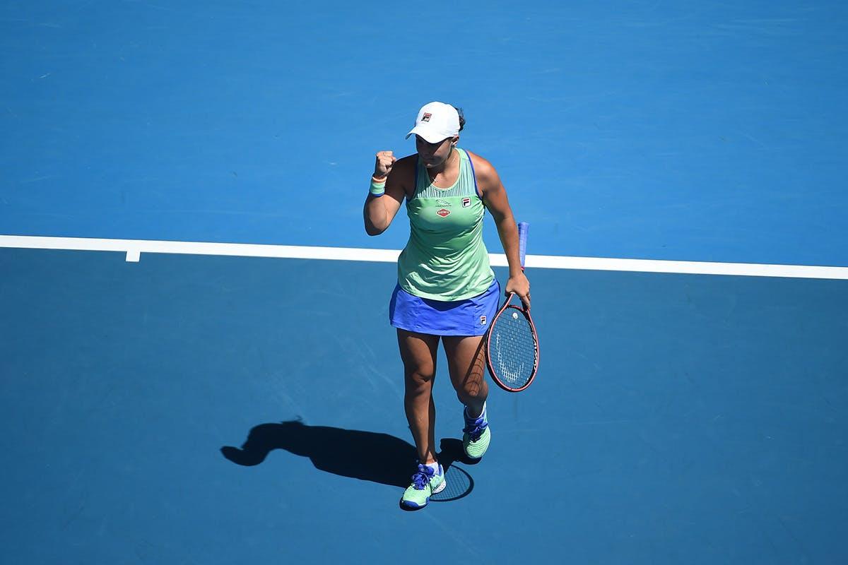 Ashleigh Barty in quarter-final of Australian Open 2020