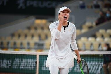 Iga Swiatek, Roland-Garros 2020, fourth round